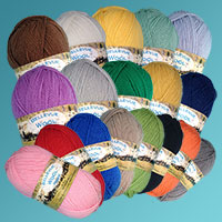 4 Ply - 50 gram Wool Ball